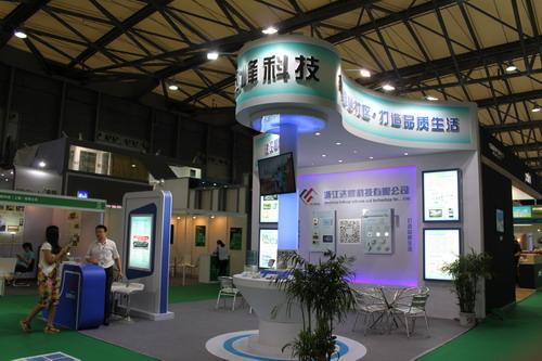中国智能家居产业联盟企业参展上海智能建筑展